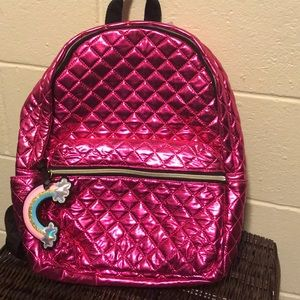 Claire's Bags - NWT Claire's backpack fucsia pink quilted